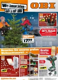 OBI Weihnachten - einfach mit Obi Dezember 2014 KW50