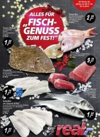 real,- Alles für Fisch-Genuss zum Fest Dezember 2014 KW50