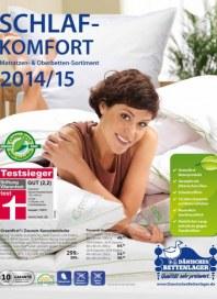 Dänisches Bettenlager Schlafkomfort 2014/15 Dezember 2014 KW50