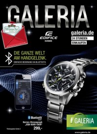 Galeria Kaufhof Casio Angebote Dezember 2014 KW50