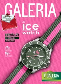 Galeria Kaufhof IceWatch Angebote Dezember 2014 KW50