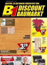 B1 Discount Baumarkt Aktuelle Angebote Dezember 2014 KW50 1