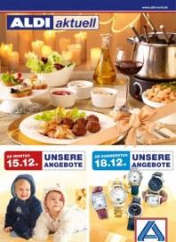Aldi Nord Aldi Aktuell - Angebote ab Montag, 15.12 Dezember 2014 KW51
