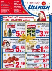 Ullrich Verbrauchermarkt 7 Tage günstig Dezember 2014 KW51