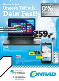 Conrad Unsere Technik. Dein Fest Dezember 2014 KW51 1
