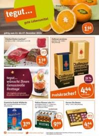 tegut... tegut...gute Lebensmittel Dezember 2014 KW52 2