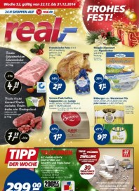 real,- Aktuelle Angebote Dezember 2014 KW52
