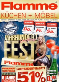Flamme Möbel Jahrhundert-Angebote Dezember 2014 KW52