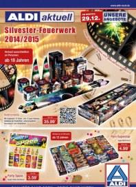 Aldi Nord Aldi Aktuell - Silvester-Feuerwerk ab Montag, 29.12 Dezember 2014 KW52