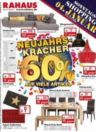 Rahaus Neujahrskracher Januar 2015 KW01