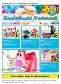 Tedi GmbH & Co. KG Kunterbunte Narrenzeit Januar 2015 KW02