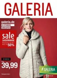 Galeria Kaufhof Reduzierte Saisonware Januar 2015 KW01
