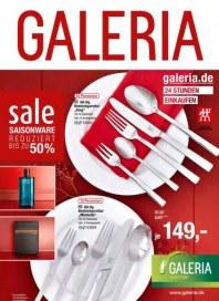 Galeria Kaufhof Bis zu 50% reduziert Januar 2015 KW02