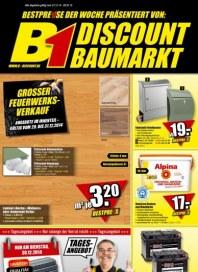 B1 Discount Baumarkt Aktuelle Angebote Januar 2015 KW01