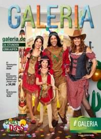 Galeria Kaufhof Angebote zum Karneval Januar 2015 KW02