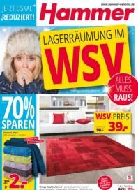Hammer Lagerräumung im WSV Januar 2015 KW02