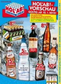 Hol ab Getränkemarkt HolAb! - Vorschau Januar 2015 KW03