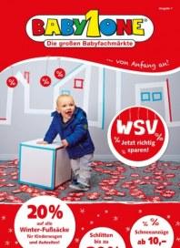 BabyOne Unsere WSV-Angebote - Jetzt richtig sparen Januar 2015 KW03