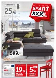 XXXL Einrichtungshäuser Deutschland spart XXXL Januar 2015 KW04
