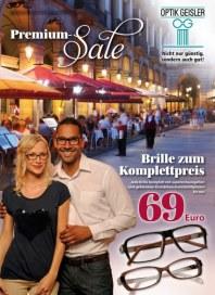 Optik Geißler Premium-Sale Januar 2015 KW04