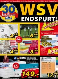 Dänisches Bettenlager WSV Endspurt Januar 2015 KW05