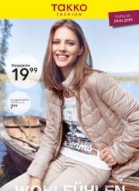 Takko Fashion Wohlfühlen - Zwischen den Jahreszeiten Januar 2015 KW05