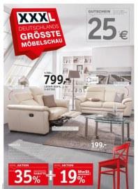 XXXL Einrichtungshäuser Deutschlands größte Möbelschau Januar 2015 KW05