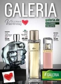 Galeria Kaufhof Angebote zum Valentinstag Februar 2015 KW06