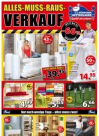 Dänisches Bettenlager Muss-alles-raus-Verkauf Februar 2015 KW07