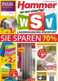Hammer WSV Lagerräumung-Endspurt Februar 2015 KW07