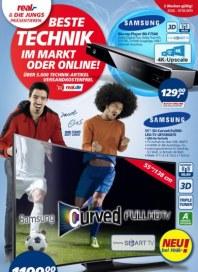 real,- Beste Technik im Markt oder online Februar 2015 KW09