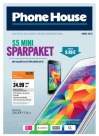 Phone House S5 Mini Sparpaket März 2015 KW09