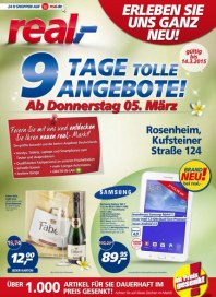 real,- 9 Tage tolle Angebote März 2015 KW10