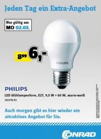 Conrad Jeden Tag ein Extra-Angebot März 2015 KW10