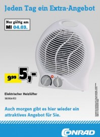 Conrad Jeden Tag ein Extra-Angebot März 2015 KW10 2