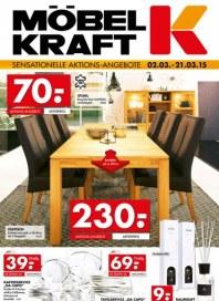 Möbel Kraft Sensationelle Aktions-Angebote März 2015 KW10
