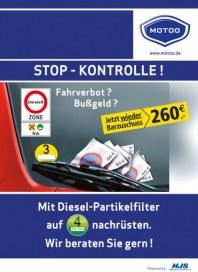 Motoo Stop - Kontrolle März 2015 KW10