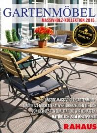 Rahaus Gartenmöbel März 2015 KW11