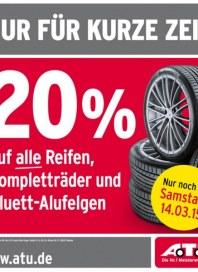 A.T.U Auto Teile Unger Nur für kurze Zeit März 2015 KW11 1