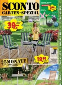 Sconto Garten-Spezial März 2015 KW12