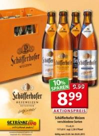 Getränkeland Schöfferhofer...Angebot März 2015 KW13