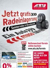A.T.U Auto Teile Unger Jetzt gratis Reifeneinlagerung März 2015 KW13