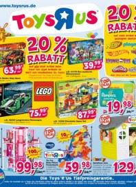 Toys''R''Us 20% Rabatt März 2015 KW13