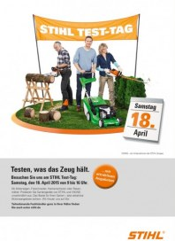 Stihl Stihl Test-Tag April 2015 KW16
