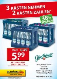 Getränkeland Glashäger...Angebot März 2015 KW14