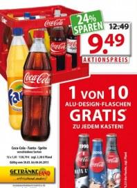 Getränkeland Coca Cola...Angebot März 2015 KW14