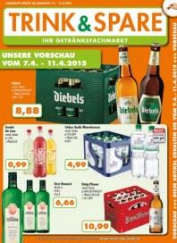 Trink und Spare Unsere Vorschau vom 7.4.-11.4.2015 April 2015 KW15