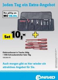 Conrad Jeden Tag ein Extra-Angebot April 2015 KW15