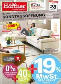 Höffner Höffner ... Wo Wohnen wenig kostet April 2015 KW16