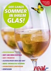 real,- Der Ganze Sommer in Ihrem Glas April 2015 KW17